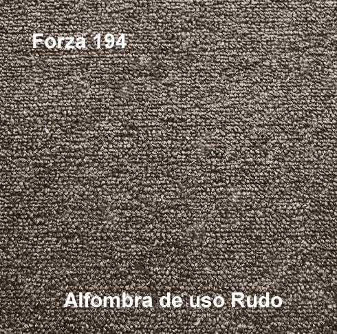 Alfombra de Uso Rudo marca nuvó linea forza 194, color café