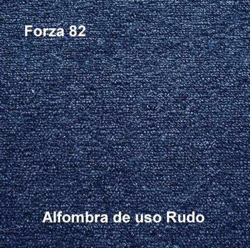 Alfombra de Uso Rudo marca nuvó linea forza 82, color azul