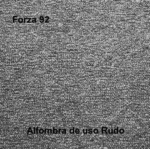 Alfombra de Uso Rudo marca nuvó linea forza 92, color gris