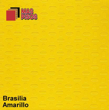 piso vinilico en rollo antiderrapante brasilia amarillo