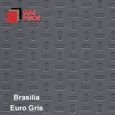 piso vinilico en rollo antiderrapante brasilia euro gris