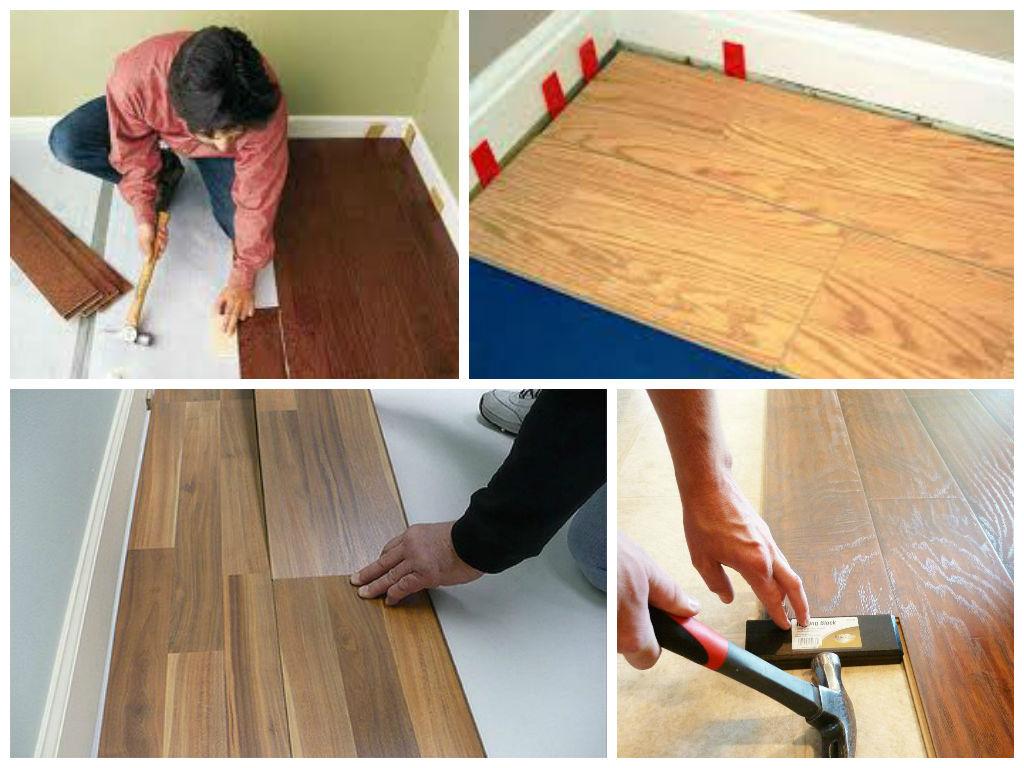 Aprende c mo poner un piso laminado teniendo la - Colocar parquet laminado ...