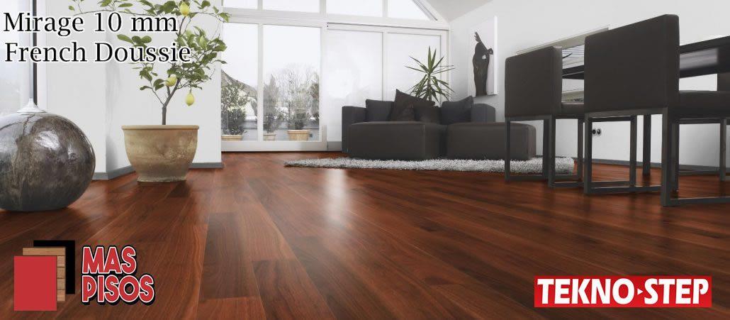 Piso Laminado Tekno-step MIRAGE 10MM, Duela laminada, piso de madera
