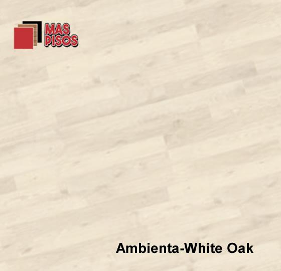 Piso lamminado de 7mm,Duela laminada de 7mm maraca terza, color ambienta white oak