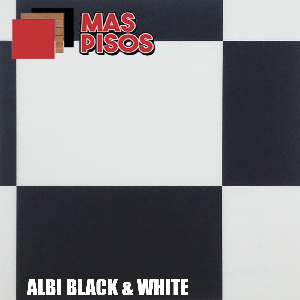 Linóleo en rollo Cuadros negro y blanco linea Exclusive 240