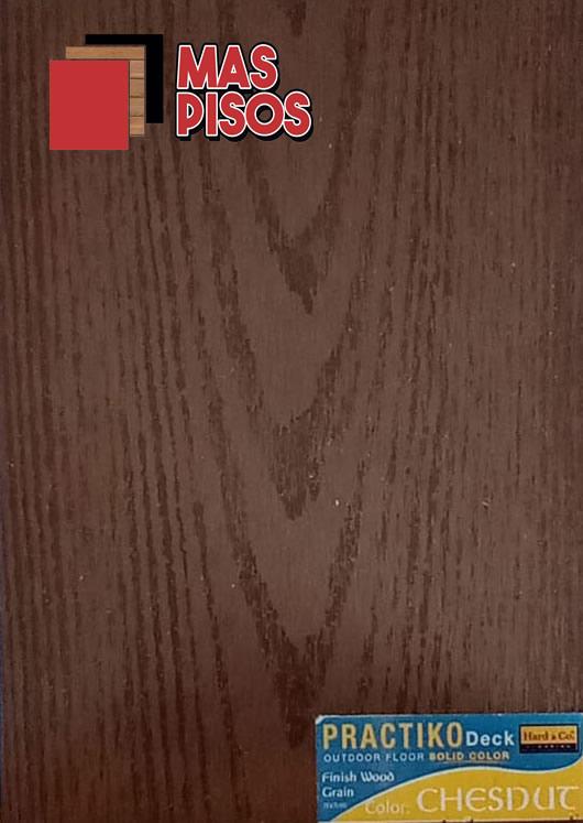 DECK-PVC Linea Practiko para exteriores